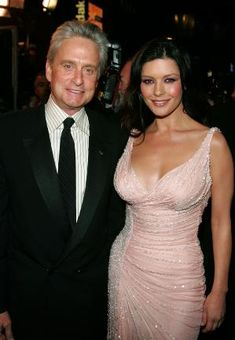 Michael Douglas and Catherine Zeta-Jones (m. 18-Nov-2000, one son, one daughter)  Son: Dylan Michael Douglas (b. 8-Aug-2000)  Daughter: Carys Zeta Douglas (b. 22-Apr-2003)
