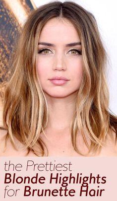 The Best Celebrity Blonde Highlights for Brunettes | InStyle.com