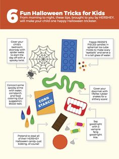 From morning to night, these tips, brought to you by HERSHEY, will make your child one happy Halloween trickster.