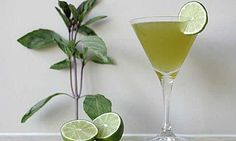 You might be inspired to raise a toast to one of Hollywood's most classic films with an Emerald City cocktail, a refreshing gin-based libation flavored with Thai basil simple syrup and fresh lime. Click here for the recipe.