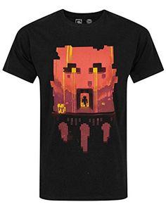 Hombres - Minecraft - Minecraft - Camiseta (S) #regalo #arte #geek #camiseta