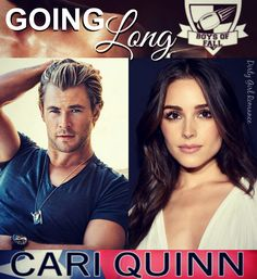 Going Long (Boys of Fall) by Cari Quinn  #DirtyGirlRomance