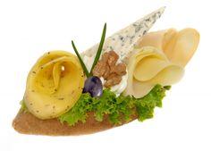 Výsledek obrázku pro sýrový obložený chlebíček