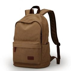 USB Charing canvas backpack/travel bag/ rucksack