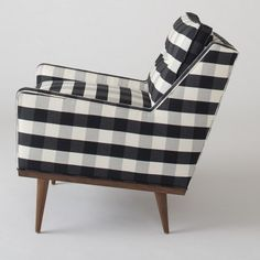 Jack Chair - Windowpane Plaid | Chairs | Furniture