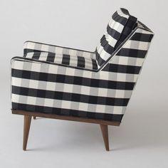 Jack Chair - Windowpane Plaid | Chairs | Furniture