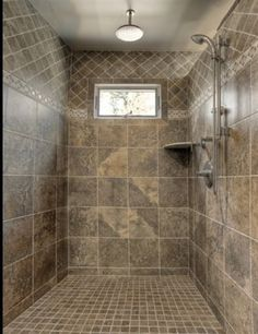 Walk in shower idea for new house....
