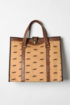 Loving this fox print tote via UO.  Perfect for lugging my laptop to and from work.  Only $48!