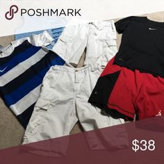 Boys Bundle Gently worn name brand items. Sizes range from S-M 8-10/10-12) Nike Matching Sets