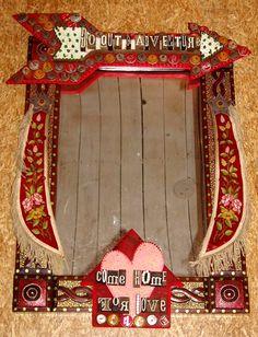 Junk Gypsy Mirror