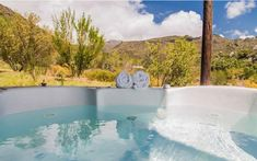 Cederkloof Botanical Retreat Pool: The Best Weekend Getaways Best Weekend Getaways, Winter Getaways, Mountain View, Holiday Destinations, Cape Town, Countryside, The Best, Places To Go, Outdoor Decor
