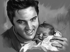 """Baby and Daddy"" by Sara Lynn Sanders"