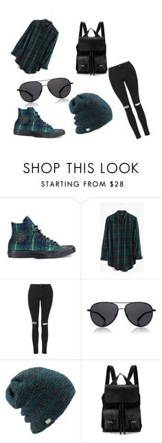 """""""Untitled #11"""" by lialil on Polyvore featuring Converse, Madewell, Topshop, The Row, Coal and Aspinal of London"""
