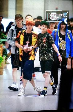 """Luhan: """"You're coming with me."""""""