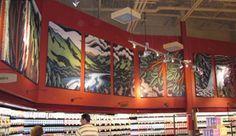 Ferrari Color Wall Murals, Ferrari, Cool Stuff, Color, Wallpaper Murals, Murals, Wall Prints, Colour, Mural Painting