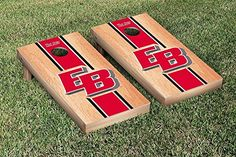 California State East Bay Pioneers Cornhole Game Set Hardcourt Stripe Version -- Check out the image by visiting the link.