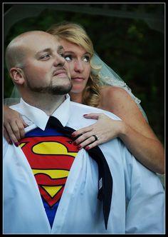 Weddings Gallery - Superman - ©Jessica Clark-McDowell  http://everydayart.us/