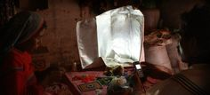 The Portable Light Project enables people in developing countries to create energy-harvesting textiles, which they can adapt to their own needs. For example, locals can weave the flexible photovoltaic cells into bags they carry around during the day, harvesting sunlight, and open it up to light their homes at night.