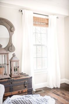 9 Conscious Tips: Living Room Remodel On A Budget How To Decorate livingroom remodel joanna gaines.Living Room Remodel On A Budget Hallways small living room remodel bath.Living Room Remodel On A Budget Layout. Bedroom Windows, Blinds For Windows, Window Blinds, Bay Windows, Window Seats, Farmhouse Window Treatments, House Color Palettes, Farmhouse Windows, Rustic Farmhouse