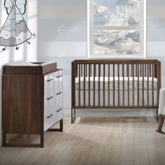 The Tulip Rio collection is one of Tulip's newest collections. It was introduced recently and features beautiful furniture pieces designed to complete your baby nursery. Made with elegant lines and craftsmanship, the Rio collection features Furniture Outlet, Cheap Furniture, Discount Furniture, Painted Furniture, Painting A Crib, Dark Brown Furniture, Baby Furniture Sets, Nursery Crib, Nursery Sets
