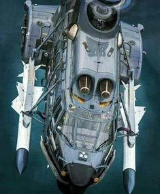 Helicopter with 2 anti-ship missles. Attack Helicopter, Military Helicopter, Military Aircraft, Airplane Fighter, Fighter Aircraft, Fighter Jets, Aircraft Design, Zeppelin, Military Equipment