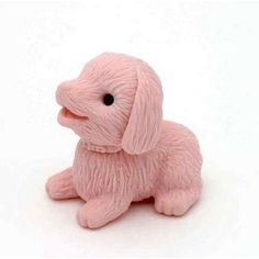 Puppy Dog Japanese Erasers. 2 Pack. Pink by PencilThings. $2.00. Take-apart erasers and put them back together again and again!. Also available in assorted colors.. Non Toxic. IWAKO erasers.. These erasers are perfect collectables, party favors, special events, souvenirs for offices, schools, teams and weddings, corporate gifts, and accessory pieces for doll houses. They are fun mini puzzles, as well, because each different colored piece (itself an eraser) detaches.