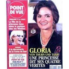 Point De Vue N° 2614 Du 26/08/1998 - Gloria Van Thurn Und Taxis - Piercing A La Cour - La Fille De La Princesse Anne Seme La Panique Chez Les Windsor - Tourisme - La Corse Du Sud.