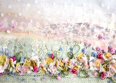 Browse all products from Emily Notman. Textile Fiber Art, Textile Artists, Textiles, Sewing Art, Fabric Art, Handmade Crafts, Embellishments, Crafty, Embroidery