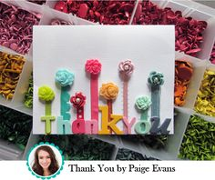 Um, hello. This is just lovely. Paige Evans rocks it, every time. (Paige Evans for American Crafts)