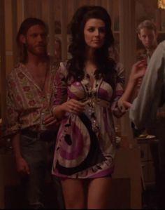 Mad Men, Megan Draper in a Pucci minidress