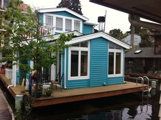 House boats are charming