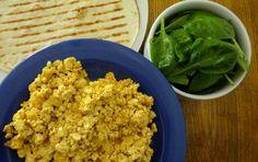 scrambled eggs vegan