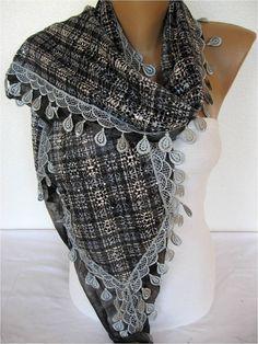 ON SALE  Trend Scarf Fashion Scarf  by SmyrnaShop on Etsy
