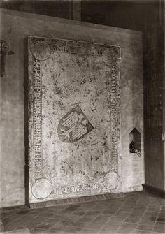 Płyta Dietricha von Logendorf - stan w 1916 r.; źródło: Marienburg Baujahr 1916 - See more at: http://icastle.pl/wawrzyniec-po-raz-trzeci/#comment-2511