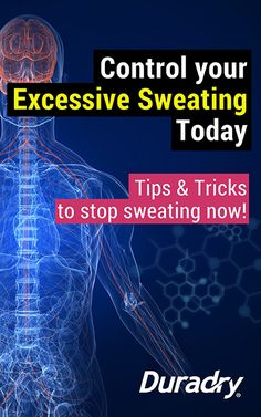 Hyperhidrosis - Tips & tricks to stop excessive sweating #excessivesweating