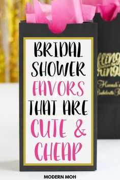15 cheap and unique bridal shower favors for guests. Bridal Shower Favors Diy, Bridal Shower Gifts For Bride, Bridal Shower Planning, Bridal Shower Party, Bridal Shower Decorations, Bridal Showers, Lingerie Shower Favors, Wedding Planning, Nautical Wedding