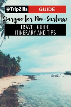 Siargao is not limited to surfing alone. For less adventurous and sporty people like me, the group of islands has a lot more to offer other than riding the waves. Here is a detailed itinerary and guide for first-timers. Philippines Tourism, Philippines Travel Guide, Philippines Culture, Most Beautiful Beaches, Beautiful Places To Visit, Places To Travel, Travel Destinations, Vietnam, Siargao Island