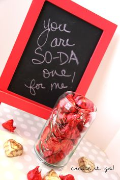 A week of Valentines Day Gifts Galore! Day 1: You are SO-DA one for me!