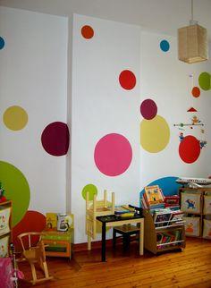 idée décoration peinture salle de jeux