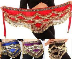 Belly Dancer hip scarf