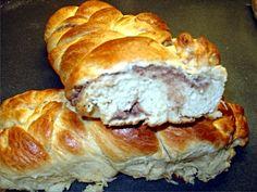 Τσουρέκια με γέμιση κάστανο ή σοκολάτα Bread, Food, Brot, Essen, Baking, Meals, Breads, Buns, Yemek