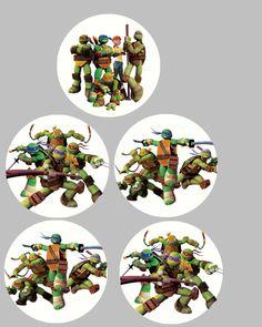 FREE Teenage Mutant Ninja Turtle Birthday Party Printables | MySunWillShine.com