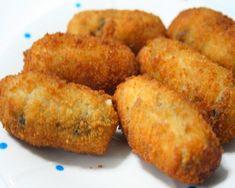croquetas de calabacín, buenísimas Unique Recipes, Vegan Recipes Easy, Diabetic Recipes, Vegetarian Recipes, Cooking Recipes, Fast Recipes, A Food, Food And Drink, Zucchini
