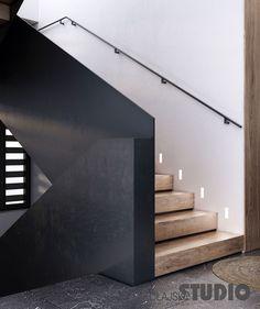 NOWOCZESNA KLATKA SCHODOWA Home Entrance Decor, House Entrance, Home Decor, Villa, Bath Girls, Modern Staircase, Beach House, Stairs, Lights