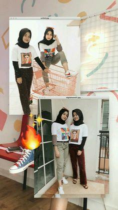 ❝𝚁𝚊𝚖𝚊𝚊❞ ┊ 𝗦𝗮𝘃𝗲📍= 𝗙𝗼𝗹𝗹𝗼𝘄 ┊ Modest Fashion Hijab, Modern Hijab Fashion, Street Hijab Fashion, Casual Hijab Outfit, Hijab Fashion Inspiration, Ootd Hijab, Hijab Chic, Fashion Outfits, Muslim Fashion