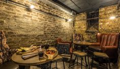 Jones wine cellar - Wandsworth (pick 'n mix cheese boards in cosy basement bar)