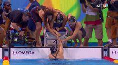 U.S. Olympic Team Retweeted  Dana Vollmer @danavollmer  Aug 10 Woohooo!!! GOLD for USA 4x200fr Relay!!! Way to go girls!! #teamusa #Rio2016