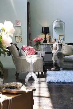 CarynGrossmanElleDecor - Eclectic - Living room - Images by cg creative interiors | Wayfair