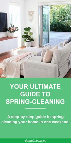With a little elbow grease and a lot of willpower, it's a lot easier than it sounds. Home Design, Interior Design, Home Hacks, Spring Cleaning, Living Area, Living Room, My Dream Home, Home And Living, Willpower
