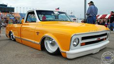 hip hop custom trucks pictures | Supafly.com » Blog Archive » Cool Kustom Chevy C-10 Pickup